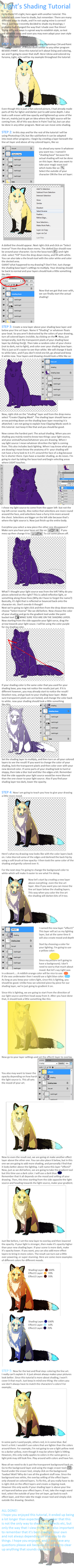 Light's Shading Tutorial by dayylights