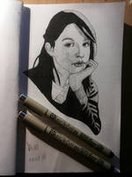 Fineliners test 2 by Yami19