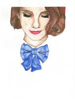 Watercolors portrait 1 by Yami19