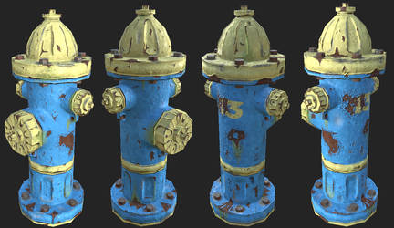 Fire Hydrant from Vault 13 by Yami19