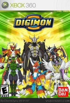 -digimon-digital-monsters Xbox 360 cover