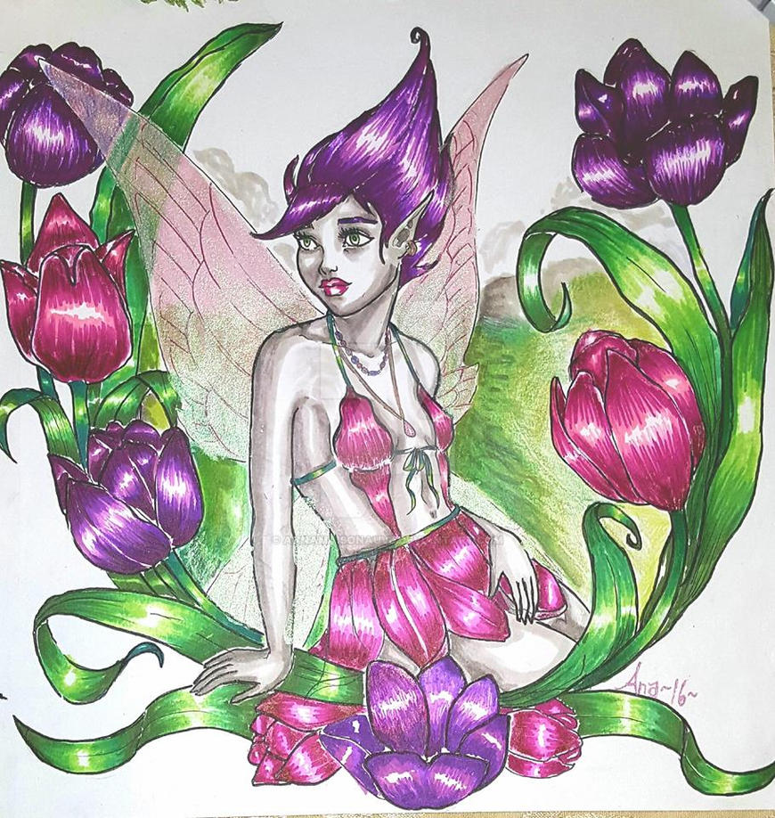 Tulip Fairy by Annamaisonauve on DeviantArt