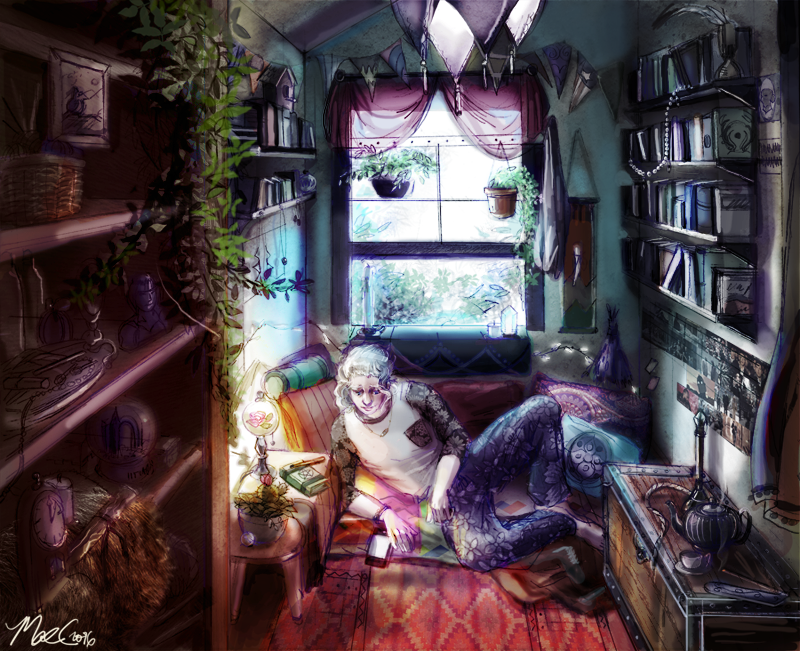 Cecil's Bedroom 2016 by infinessence