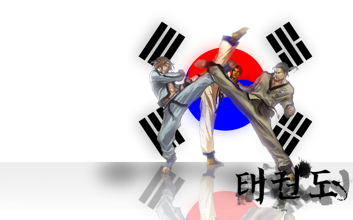 Taekwondo Anime