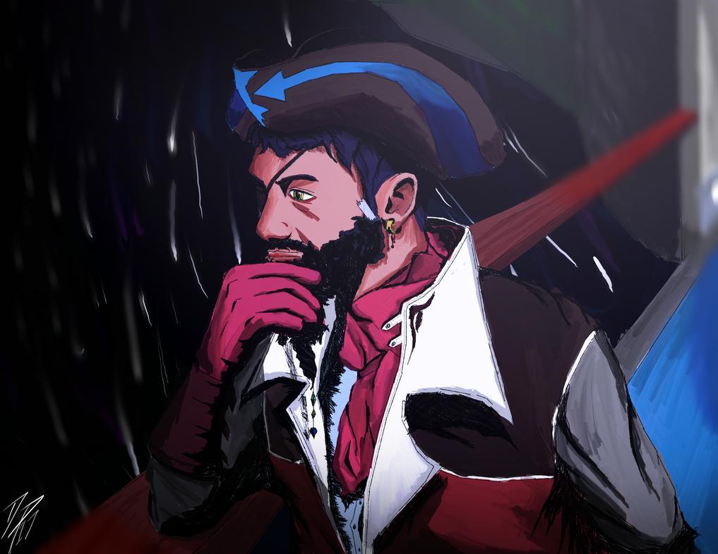 Space Pirate Sachin by darron13