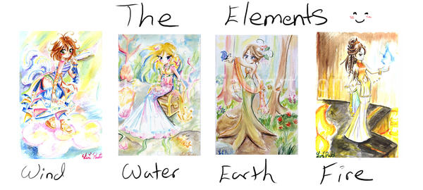 The Elements by LemiaCrescent