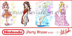 Nintendo Party Dress by LemiaCrescent