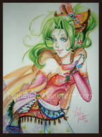 Watercolor Terra FFVI by LemiaCrescent
