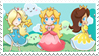 Mario Girl Stamp by LemiaCrescent