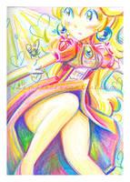Rainbow Peach by LemiaCrescent