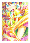 Rainbow Daisy by LemiaCrescent