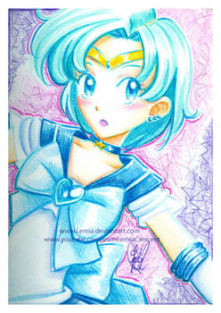 Crayola Crayon Sailor Mercury