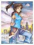 Copic Marker Avatar Korra