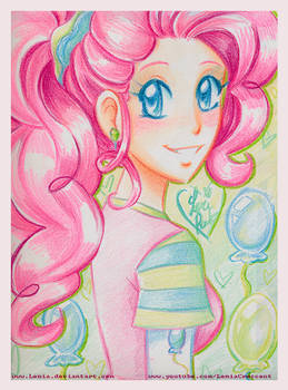 MLP Fim Crayola Crayon Pinkie Pie