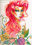 Watercolor Poison Ivy