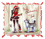 Little Red Riding Hood Christmas by LemiaCrescent