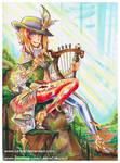 Final Fantasy XIV Bard AF by LemiaCrescent