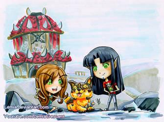 World of Warcraft Blood Elves for Marlexiiia