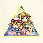 Hyrule Warriors Triforce of Wisdom by LemiaCrescent