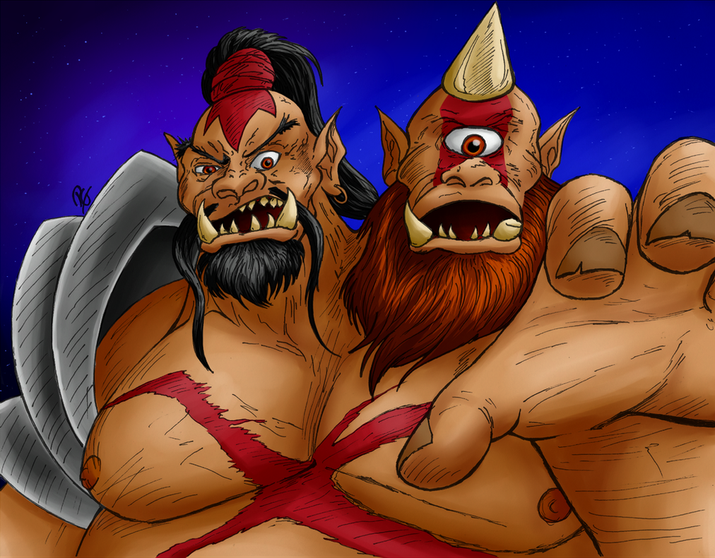 Collab: Cho'gall by Zuhani