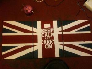 Keep Calm - Union Jack (work in progress)