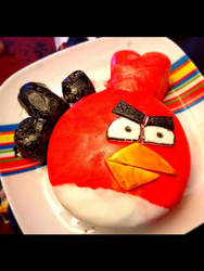 Angry Birds Cake by PeteDomoney