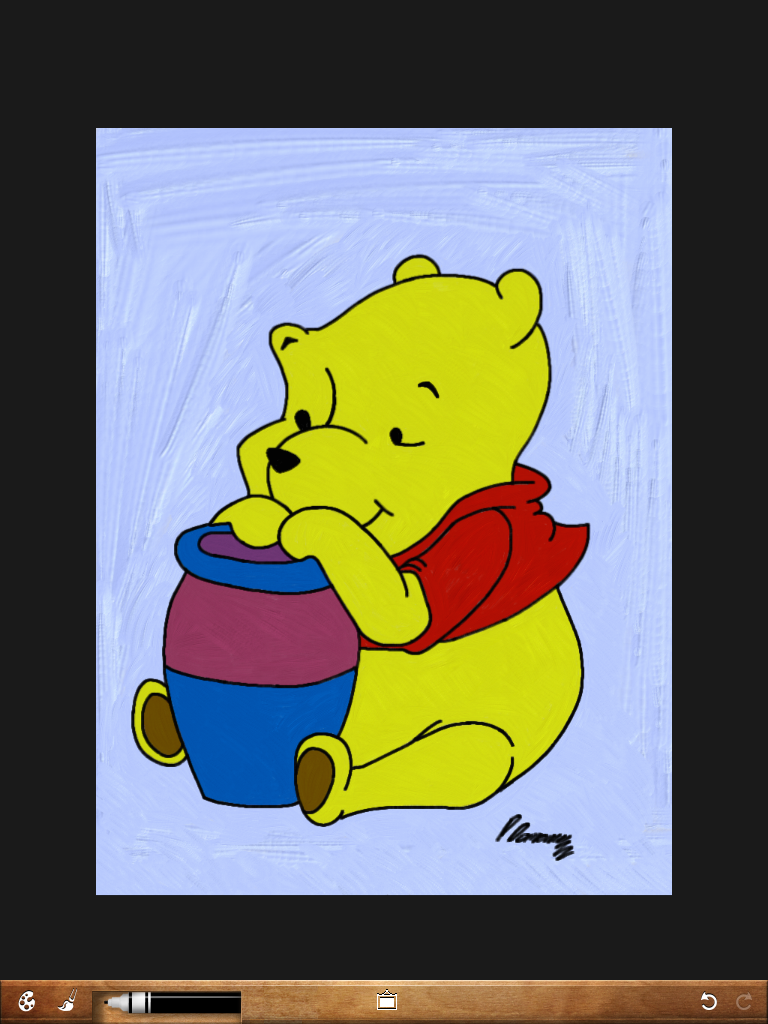 Winnie The Pooh by PeteDomoney