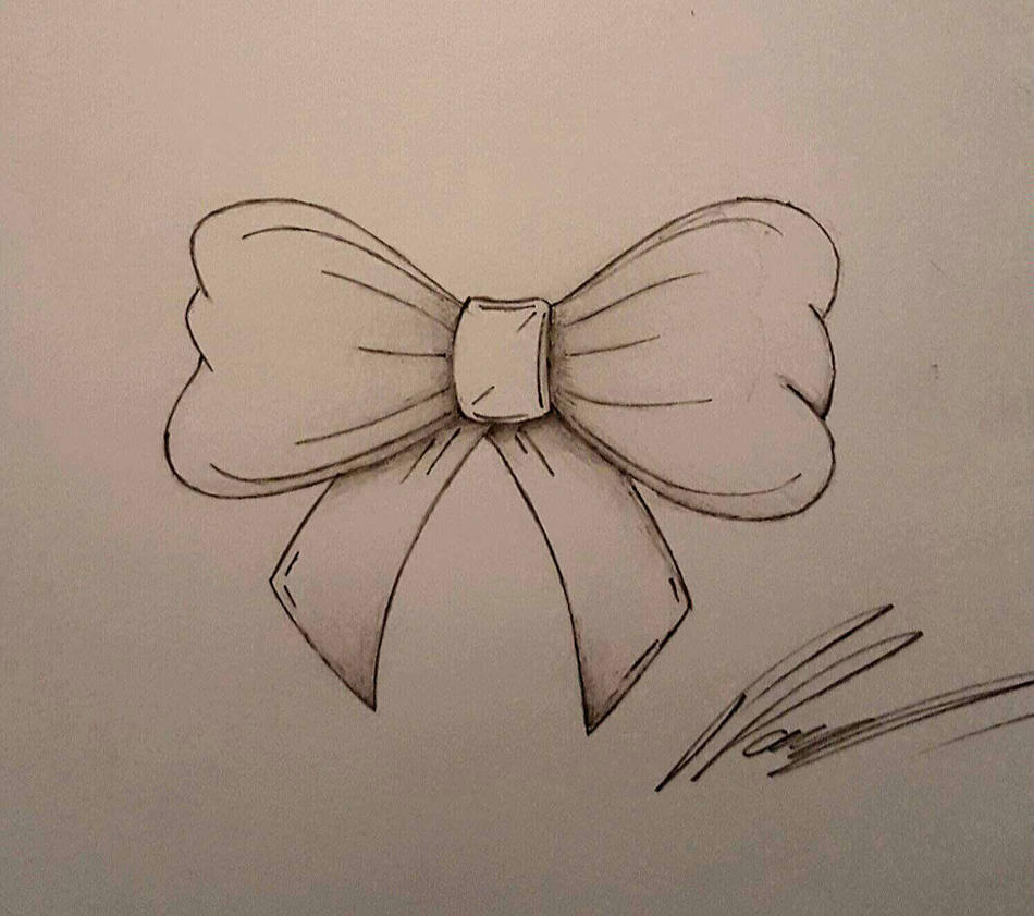 Ribbon bow tattoo designs