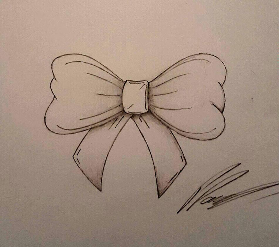 Bow Ideas Tattoo by CiNiTriQs on DeviantArt  |Bow Tattoo Sketches