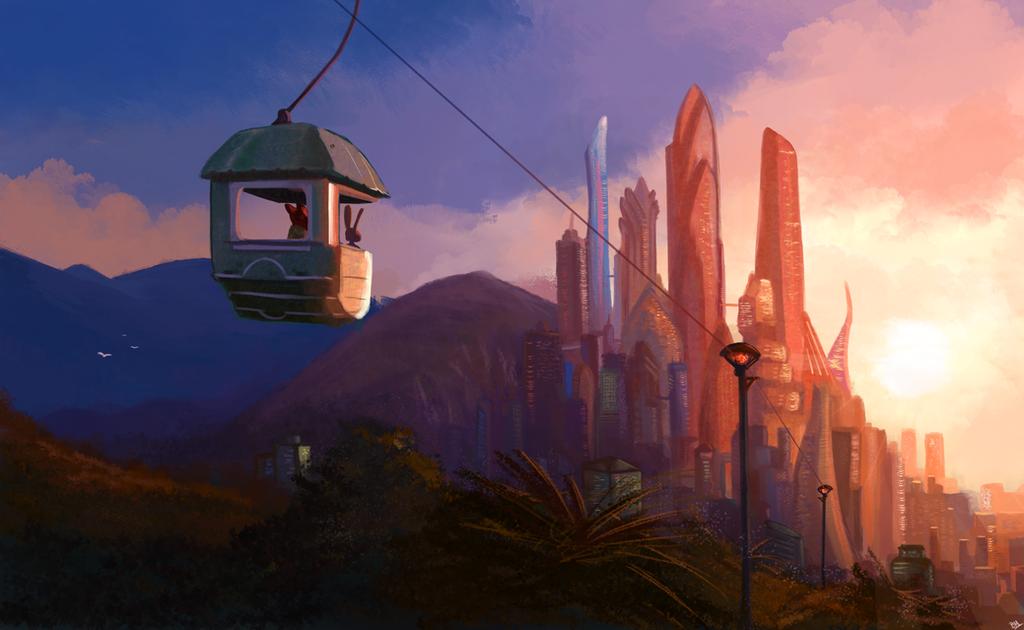 Zootopia by Saliov