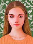 Girl concept portrait