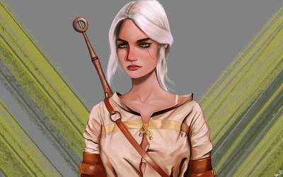 Ciri The Wither