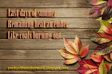 Last Heat Of Summer by CieCheesemeister