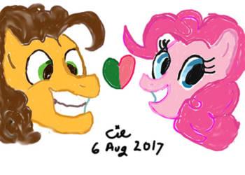 Pinkie Pie Loves Cheese Sandwich by CieCheesemeister
