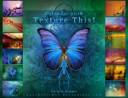 Texture This Calendar 2018 by kuschelirmel