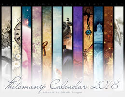 Photomanip Calendar 2018 by kuschelirmel