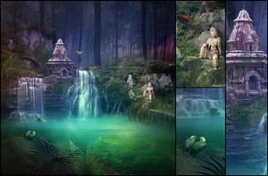Waterfalls by kuschelirmel