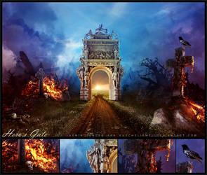 Hero's Gate by kuschelirmel
