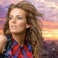 Compositing Selecting Hair Photoshop Cs5 by kuschelirmel