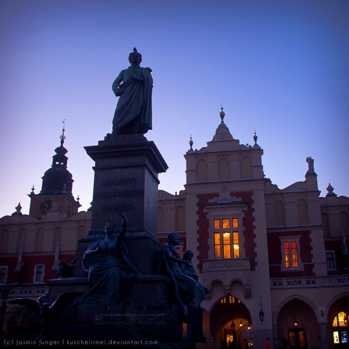 Adam Mickiewicz Statue by kuschelirmel