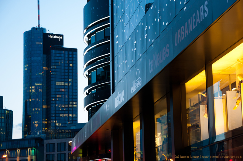 Frankfurt Nights I by kuschelirmel