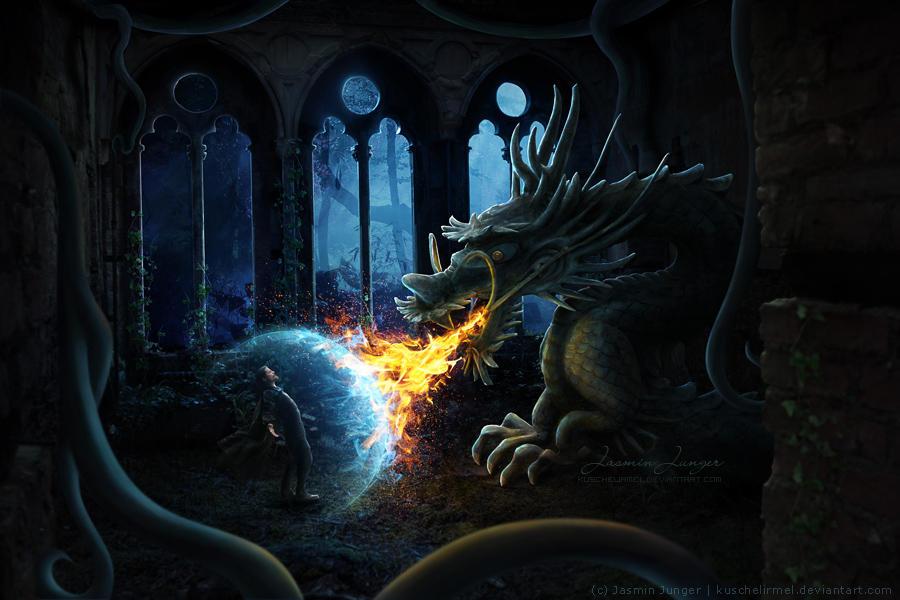Dragonsbane by kuschelirmel