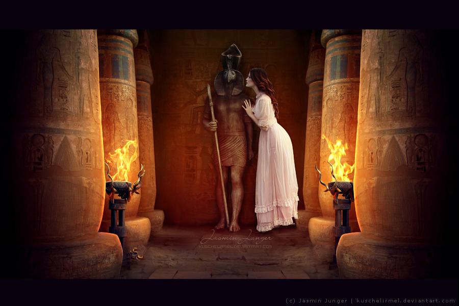 Awaking Anubis by kuschelirmel