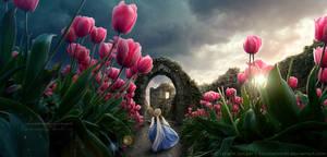 Beneath the Tulips