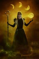 Moon Goddess by kuschelirmel