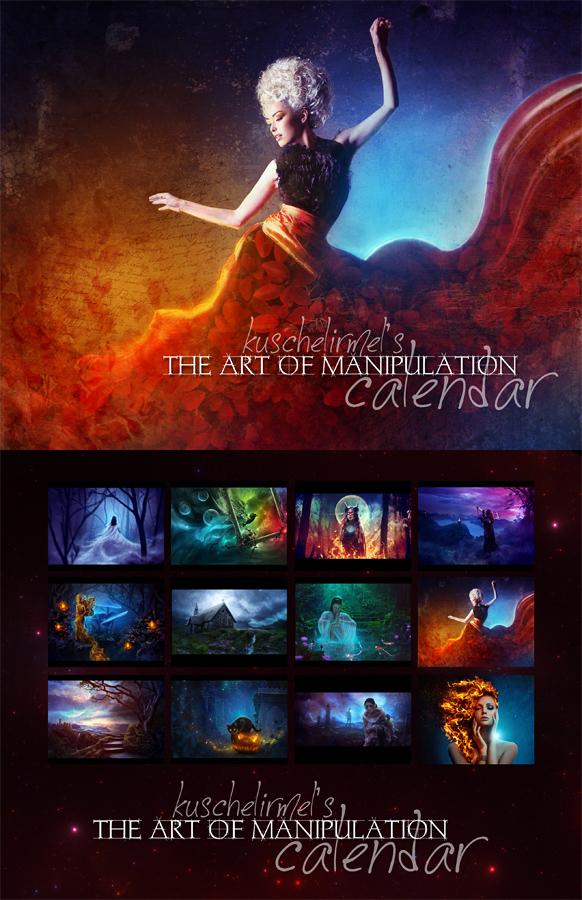The Art of Manipulation - Calendar 2018 by kuschelirmel