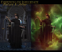 Exertion of Influence - before + after