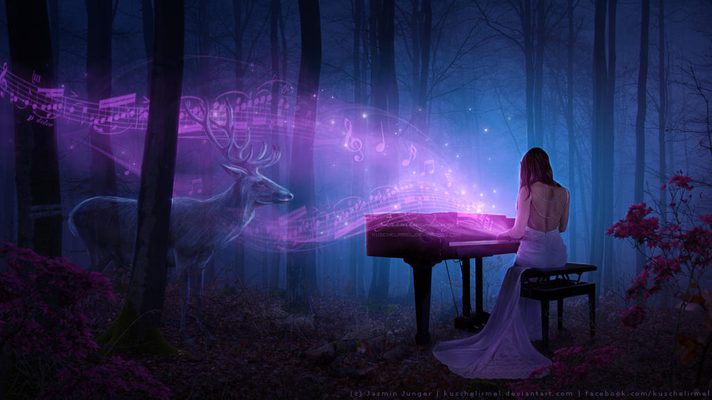 Music In The Woods by kuschelirmel