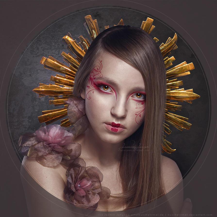 Portrait of a Girl by kuschelirmel