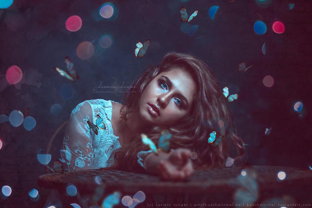Butterflies and Bokeh by kuschelirmel